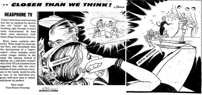 1960 Nov 27 Chicago Tribune CTWT paleo-future
