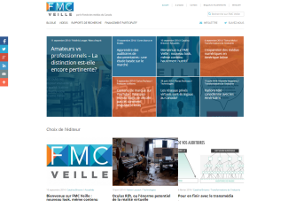 FMC page d'accueil